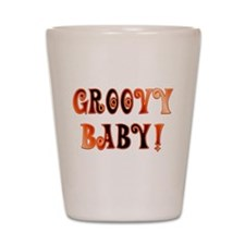 The Groovy Baby Shot Glass