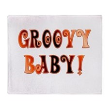 The Groovy Baby Throw Blanket