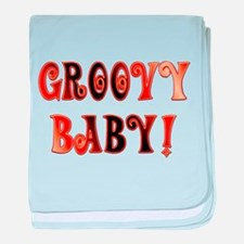 The Groovy Baby baby blanket
