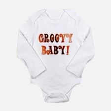 The Groovy Baby Long Sleeve Infant Bodysuit
