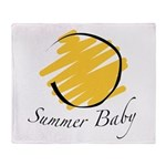 The Summer Baby Throw Blanket