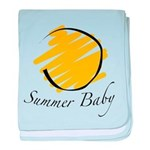 The Summer Baby baby blanket