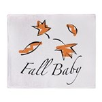 The Fall Baby Throw Blanket