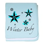 The Winter Baby baby blanket