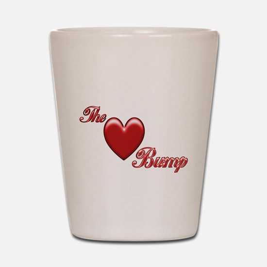 The Love Bump Shot Glass