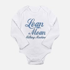 The Milking Machine Long Sleeve Infant Bodysuit