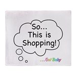 The Retail Therapy Throw Blanket