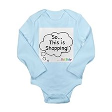The Retail Therapy Long Sleeve Infant Bodysuit