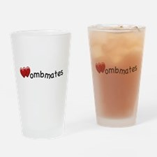The Wombmates Pint Glass