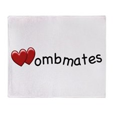 The Wombmates Throw Blanket
