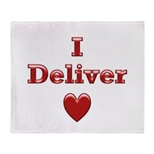 Deliver Love in This Throw Blanket