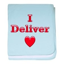 Deliver Love in This baby blanket