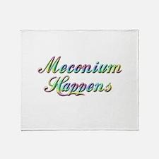 The Meconium Throw Blanket