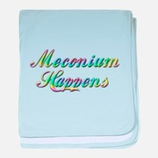 The Meconium baby blanket