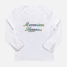 The Meconium Long Sleeve Infant T-Shirt