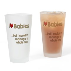 The Baby Catcher's Pint Glass