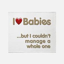 The Baby Catcher's Throw Blanket