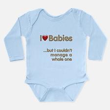 The Baby Catcher's Long Sleeve Infant Bodysuit