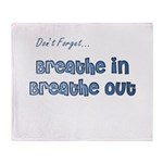 The Gentle Reminder Throw Blanket