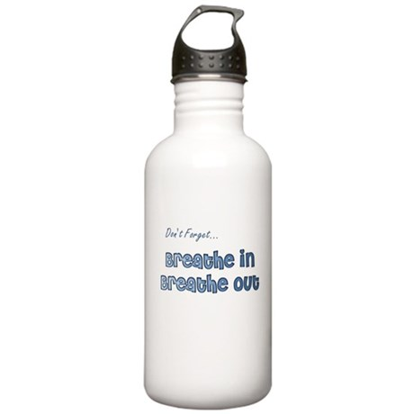 The Gentle Reminder Stainless Water Bottle 1.0L