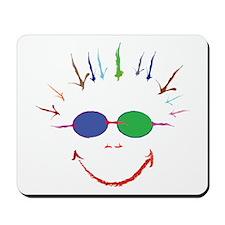 Abstract Punk Girl Art Mousepad
