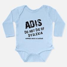 The AIDS Long Sleeve Infant Bodysuit