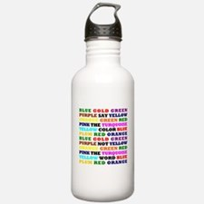 The Color Conundrum Water Bottle