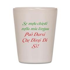 The italian Shot Glass