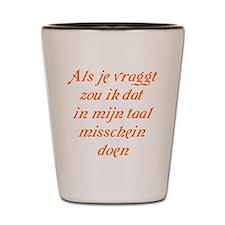 The Dutch Shot Glass