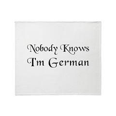 The German Throw Blanket