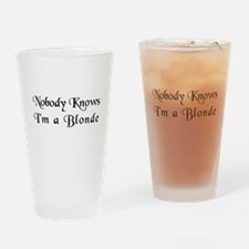 The Closet Blonde's Pint Glass