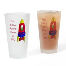 The Scarier Than a UFO Pint Glass