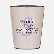 The Hedge Hog's Shot Glass