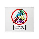 The Urban Sprawl Throw Blanket