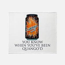 Quango'd? Then get the Throw Blanket