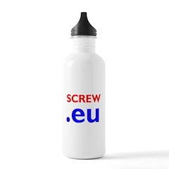 The Europhobe's Water Bottle