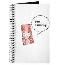 Vintage I'm Yummy Bacon Journal