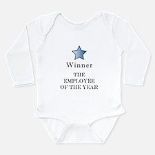 The Best Brown Nose Award - Long Sleeve Infant Bod