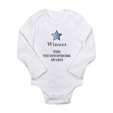 The Dinosaur Award - Long Sleeve Infant Bodysuit