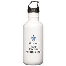 The Best Excuse Award - Water Bottle
