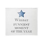 The Comedy Award - Throw Blanket