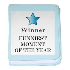 The Comedy Award - baby blanket