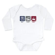 Eat Sleep Deny Long Sleeve Infant Bodysuit