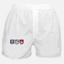 Eat Sleep Deny Boxer Shorts