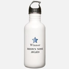 The Best Brown Nose Award - Water Bottle