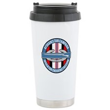 OEF and CIB Travel Mug