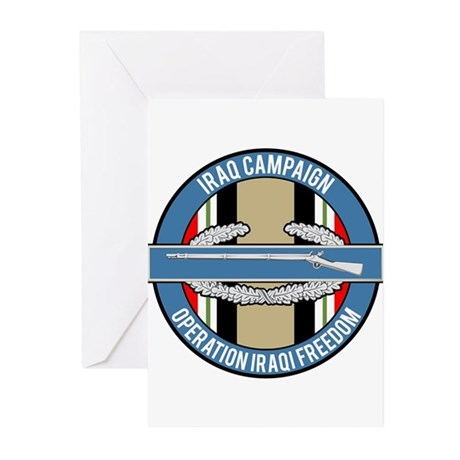 OIF and CIB Greeting Cards (Pk of 10)