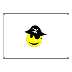 Smiley pirate art Banner