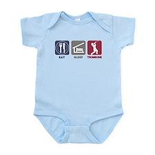 Eat Sleep Trombone Infant Bodysuit