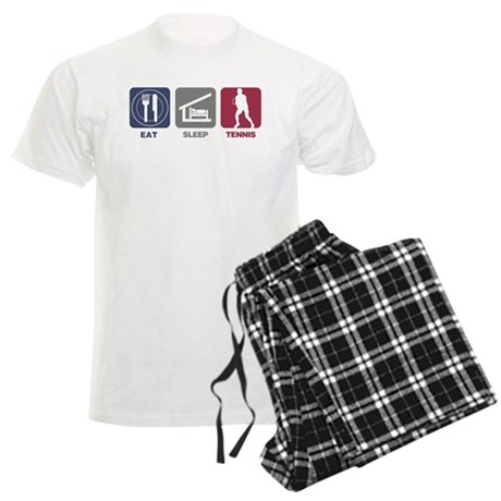 Eat Sleep Tennis - Man Men's Light Pajamas